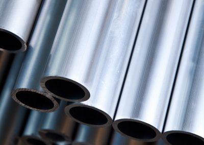 Aluminium-Rundrohre