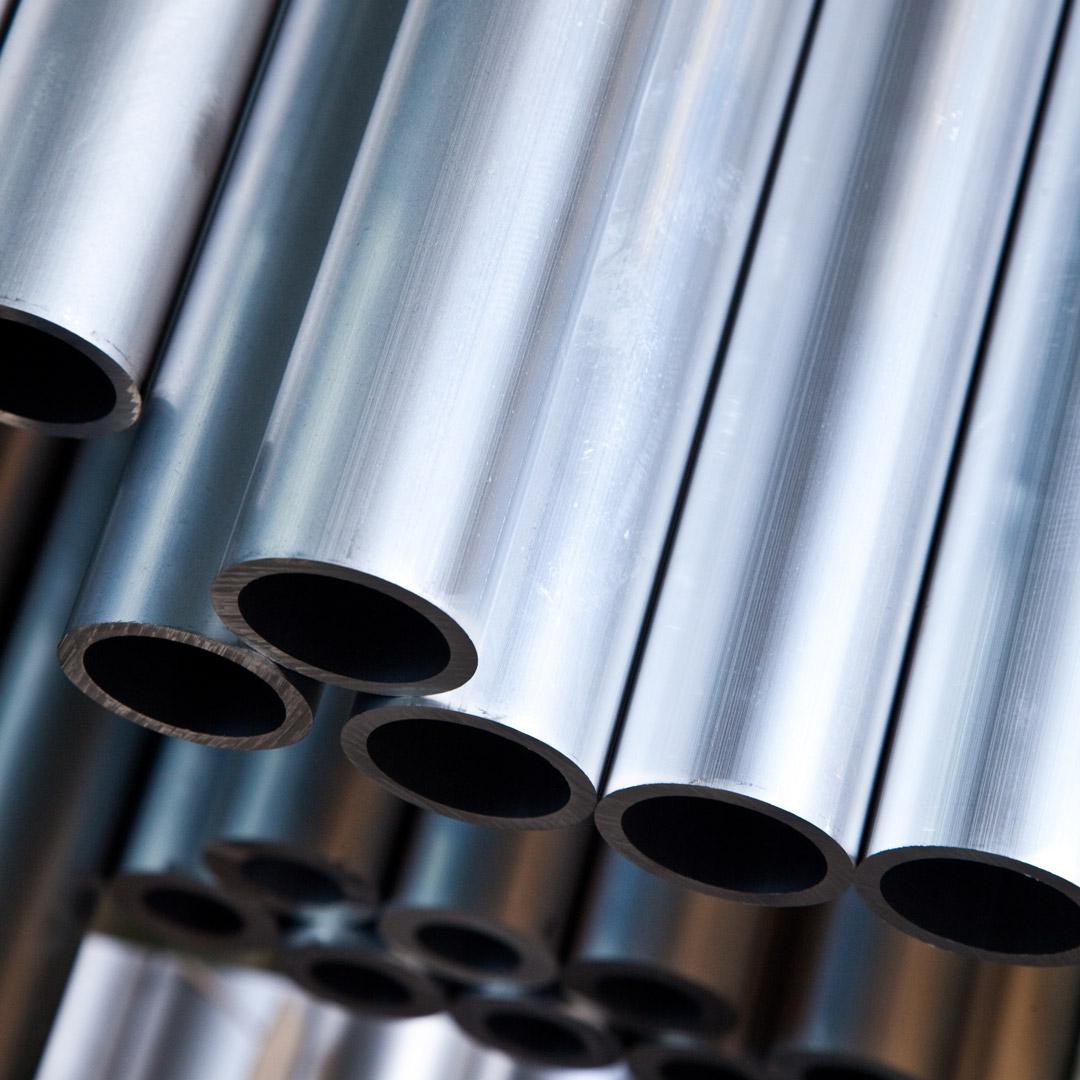 Aluminium Rundrohr AlMgSi05 /Ø 8x1mm 60cm auf Zuschnitt L/änge 600mm