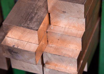 Kupfer-Flachstangen